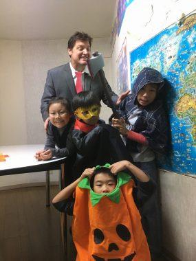 Halloween カリフォルニアベア英会話クラブ